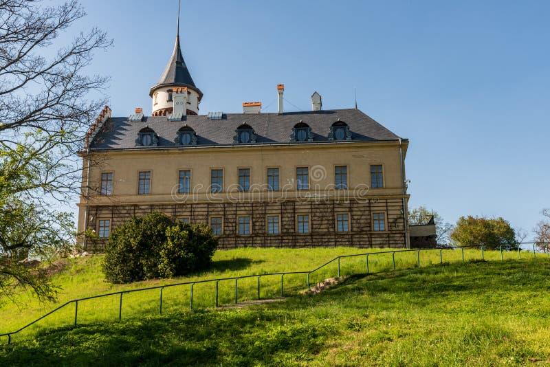 Radun chateau near Opava city in Czech republic royalty free stock image