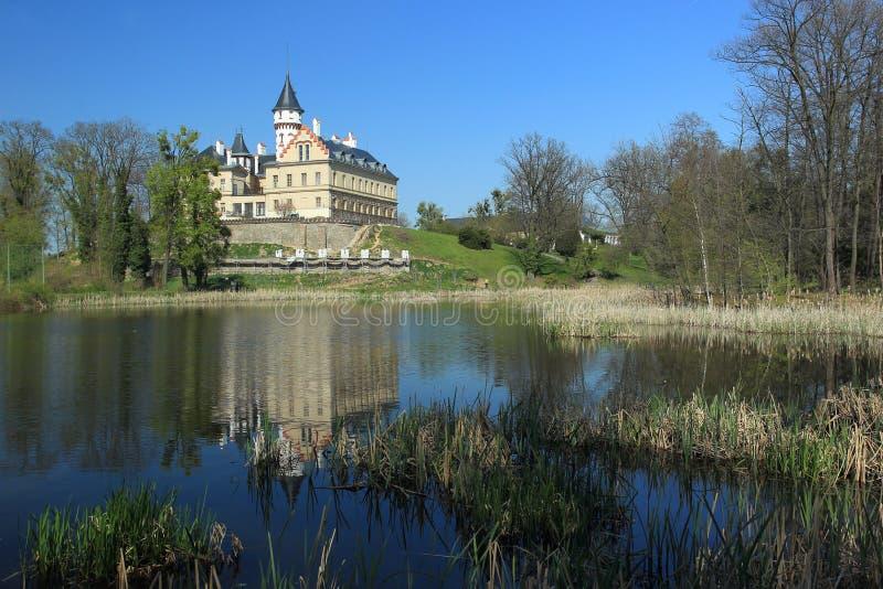 Radun chateau royalty free stock photo