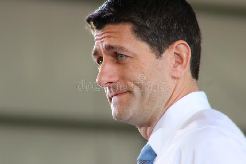 Raduno del Paul Ryan fotografie stock