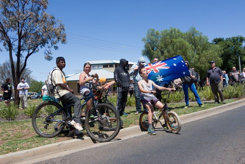 Raduno dell'Australia di recupero - Melton fotografia stock