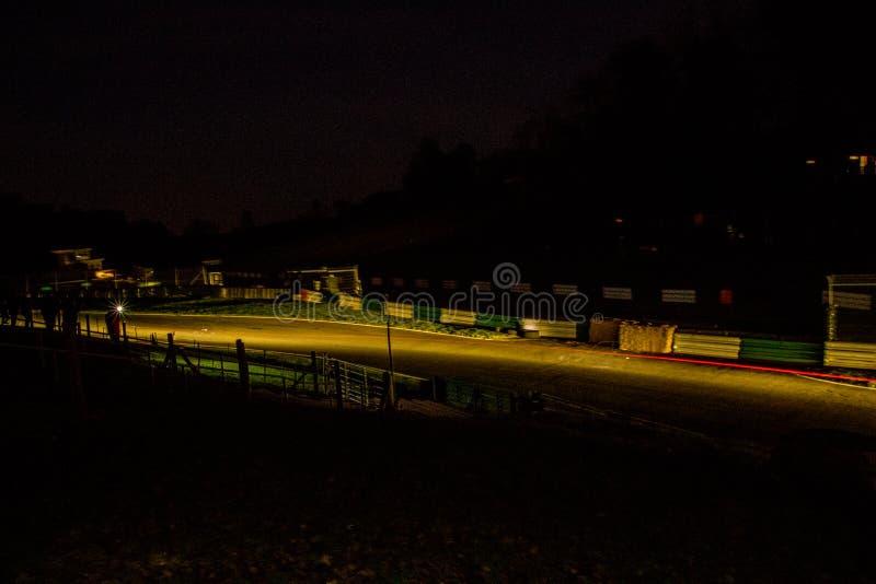 Raduno di notte fotografia stock