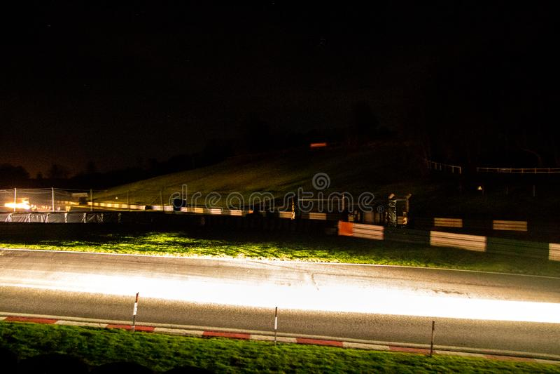 Raduno di notte immagine stock libera da diritti