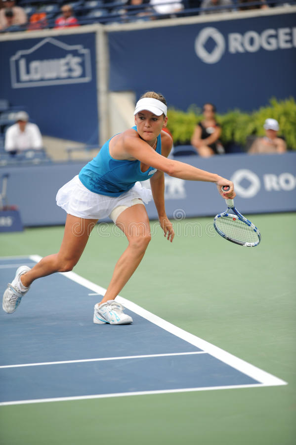 Download Radwanska Agnieszka At Rogers Cup 2009 (60) Editorial Image - Image: 10616990