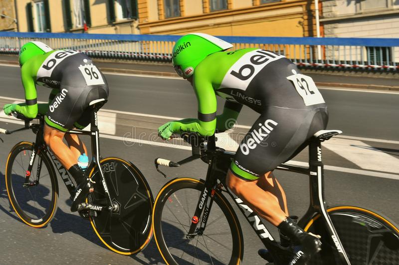 Radweltmeisterschaft in Florenz, Italien stockfotografie