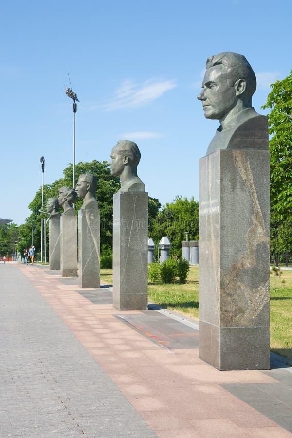 Radzieccy kosmonauta zabytki obrazy stock