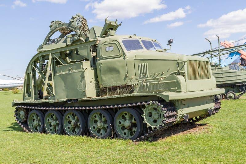 Radziecki pojazd wojskowy druga wojna światowa zdjęcie royalty free