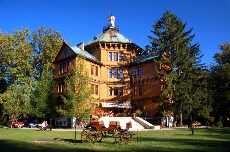 Radziwill Hunting Palace stock photography