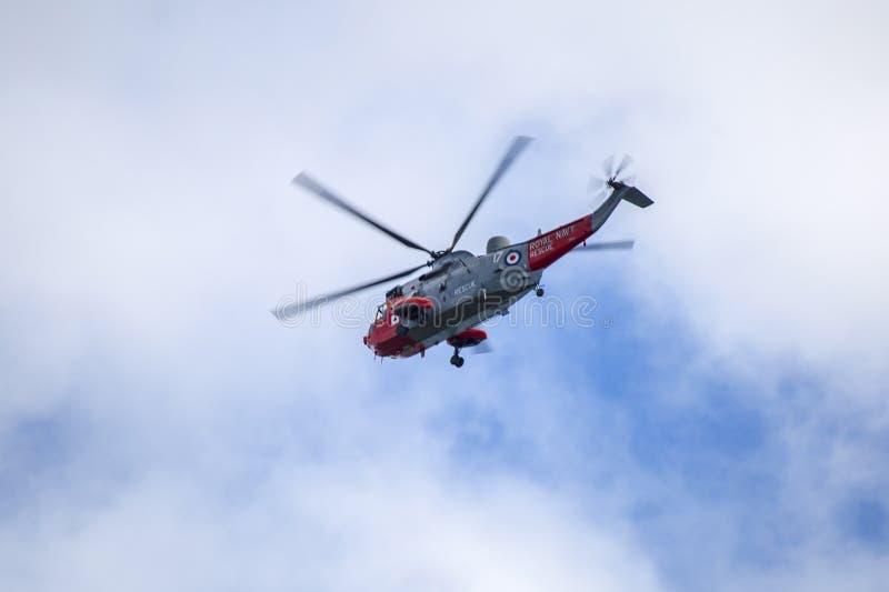 RAF ελικόπτερο στοκ φωτογραφία με δικαίωμα ελεύθερης χρήσης