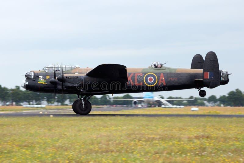 RAF Λάνκαστερ στοκ φωτογραφία με δικαίωμα ελεύθερης χρήσης