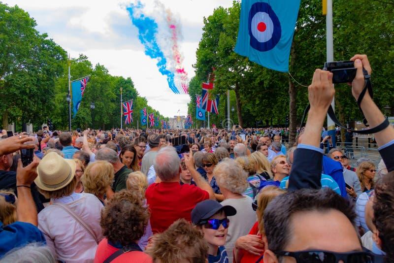 RAF торжество 100 год стоковые фотографии rf
