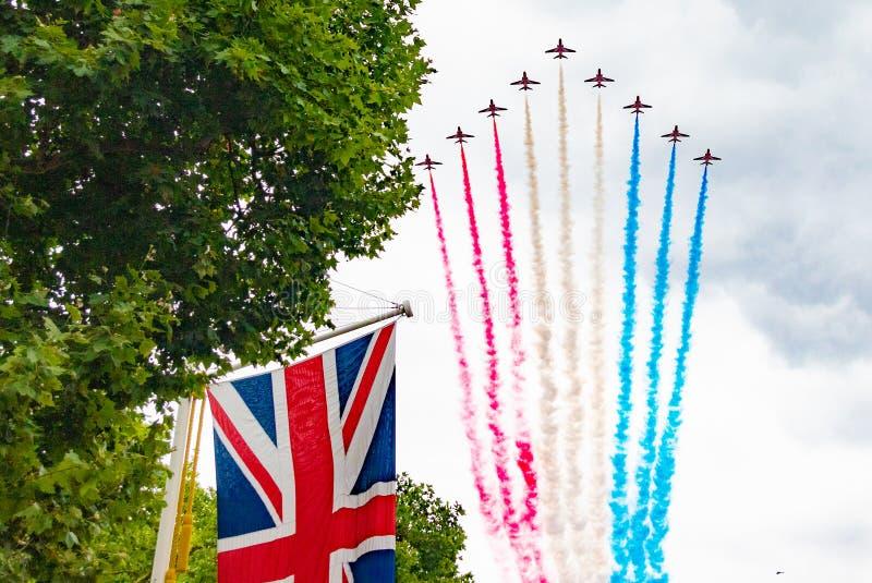 RAF торжество 100 год стоковое фото