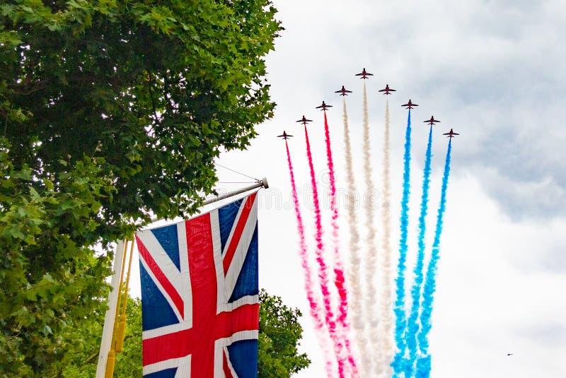 RAF торжество 100 год стоковое фото rf