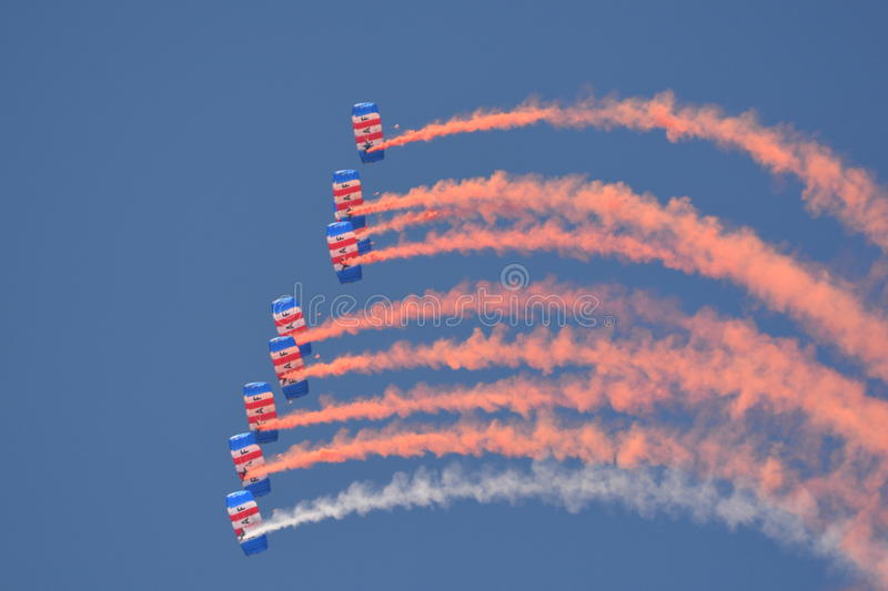 RAF Falcons foto de stock