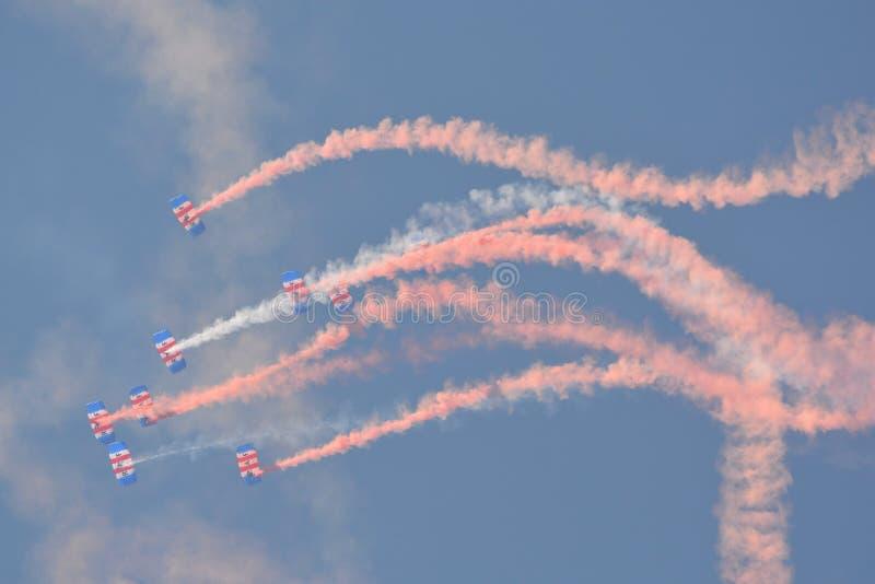 RAF Falcons images libres de droits