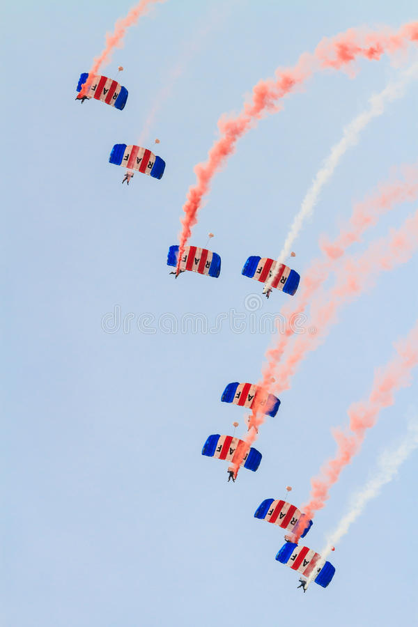 RAF Falcons imagem de stock royalty free