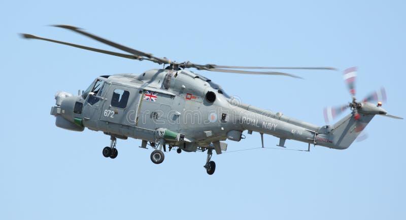 RAF Lynx Helicopter fotos de stock