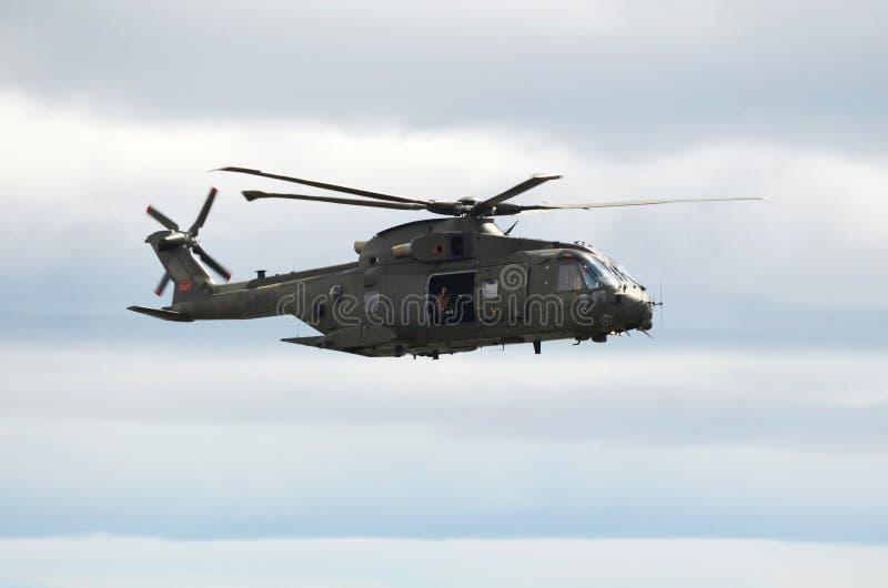RAF Merlin ελικόπτερο στοκ εικόνες