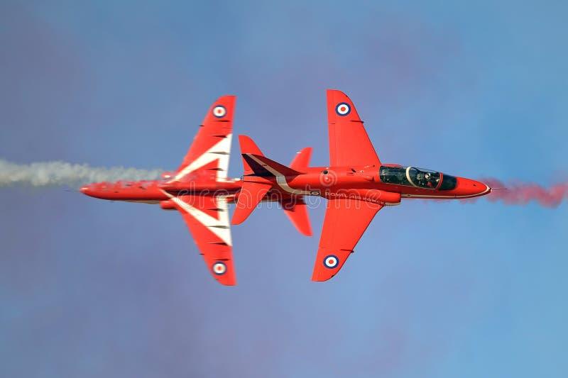 RAF Red Arrows stockfotos