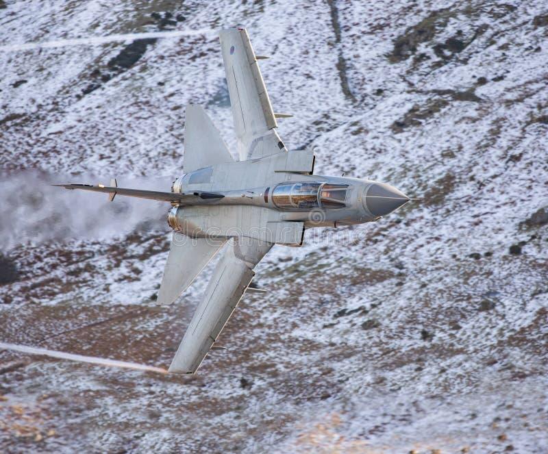 RAF Tornado Gr4 LL au Pays de Galles image stock