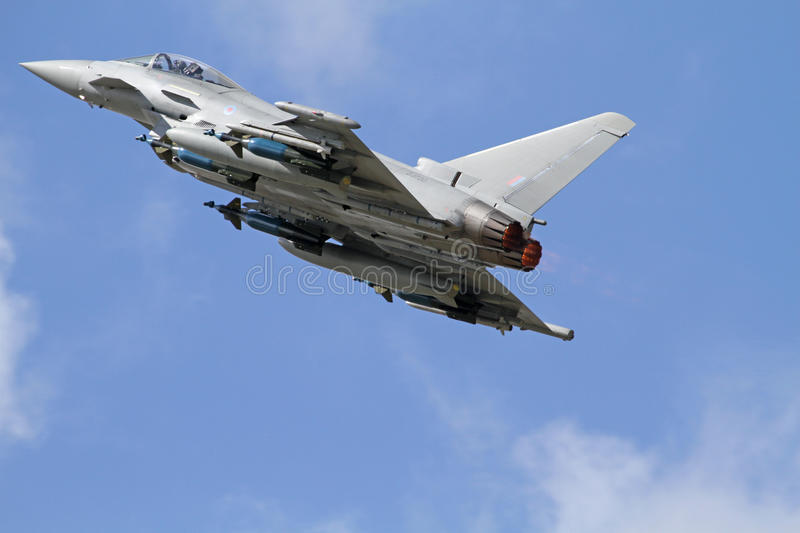 RAF Typhoon royalty free stock photos