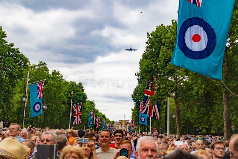 RAF uma celebração de 100 anos imagens de stock