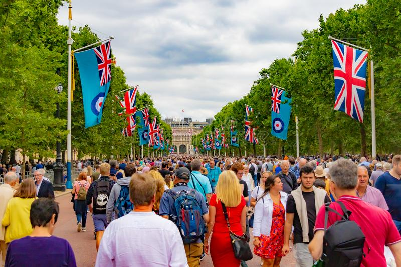 RAF uma celebração de 100 anos imagem de stock royalty free
