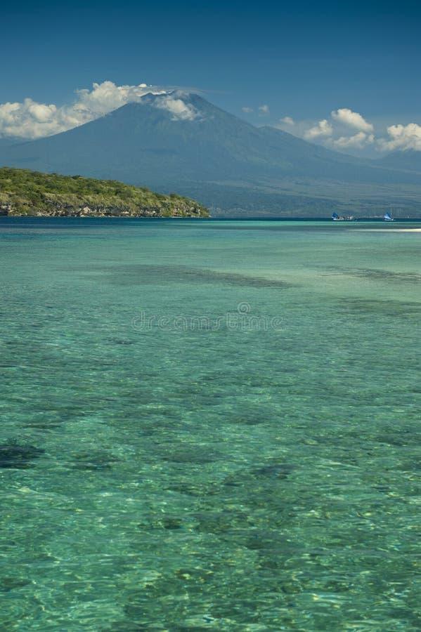 Rafa Koralowa, Menjangan wyspa zdjęcia stock