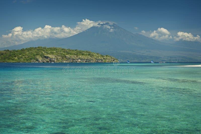 Rafa Koralowa, Menjangan wyspa fotografia royalty free