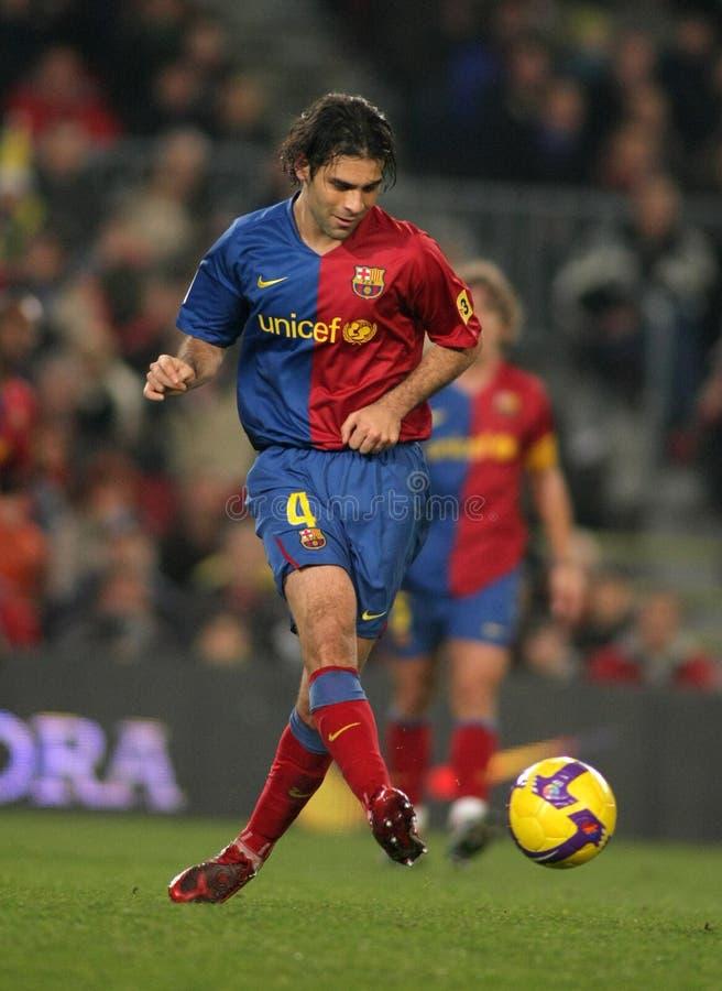 Rafael Marquez FC Barcelona foto de archivo libre de regalías