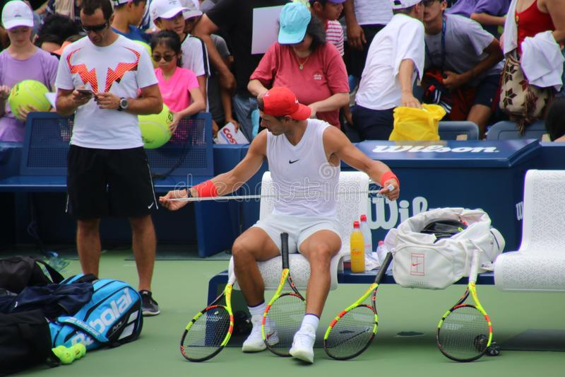 Rafael Nadal stock foto's