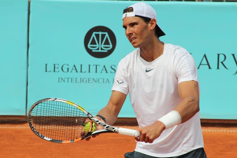 Rafael Nadal images libres de droits
