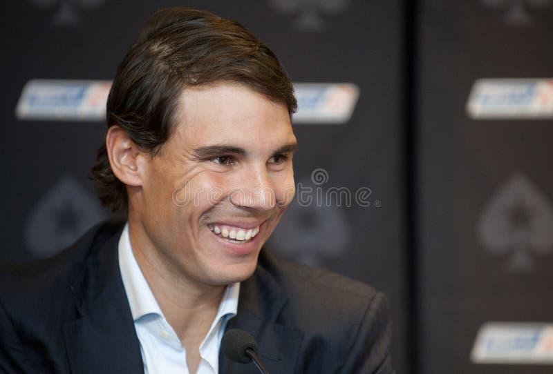 Rafael Nadal royalty-vrije stock foto's