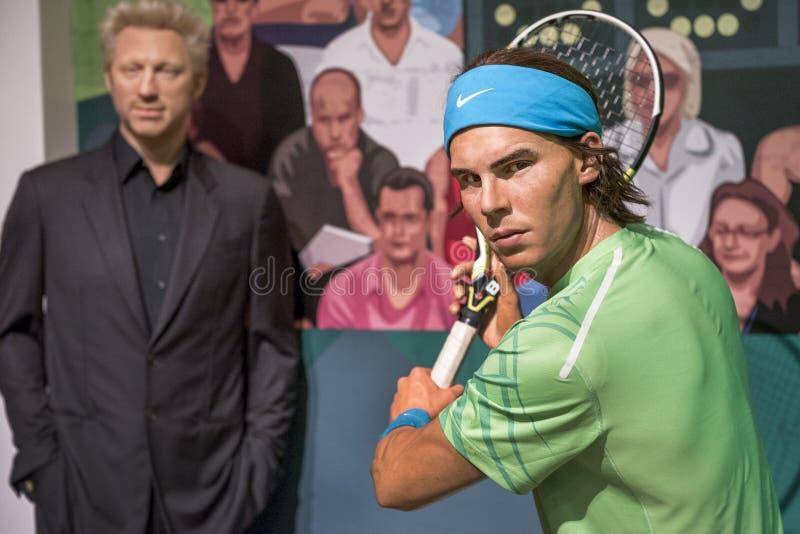 Rafael Nadal image libre de droits