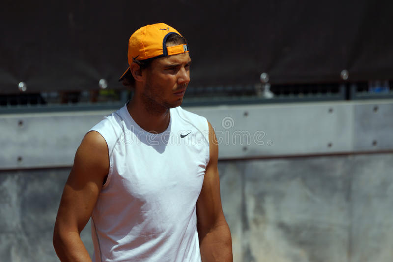 Rafael Nadal (EN PARTICULIER) image libre de droits