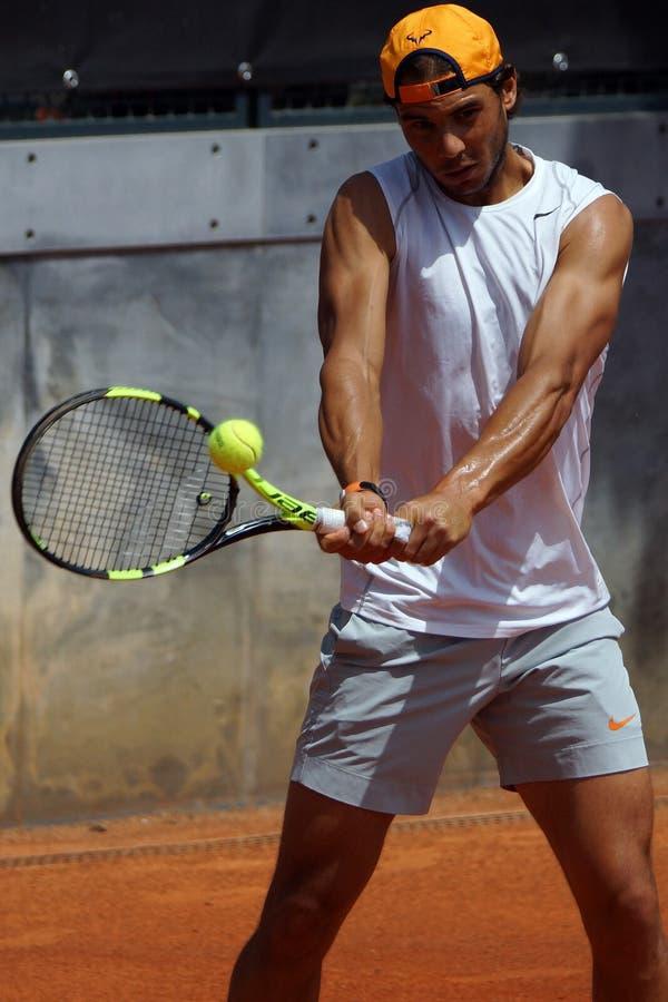 Rafael Nadal (EN PARTICULIER) image stock