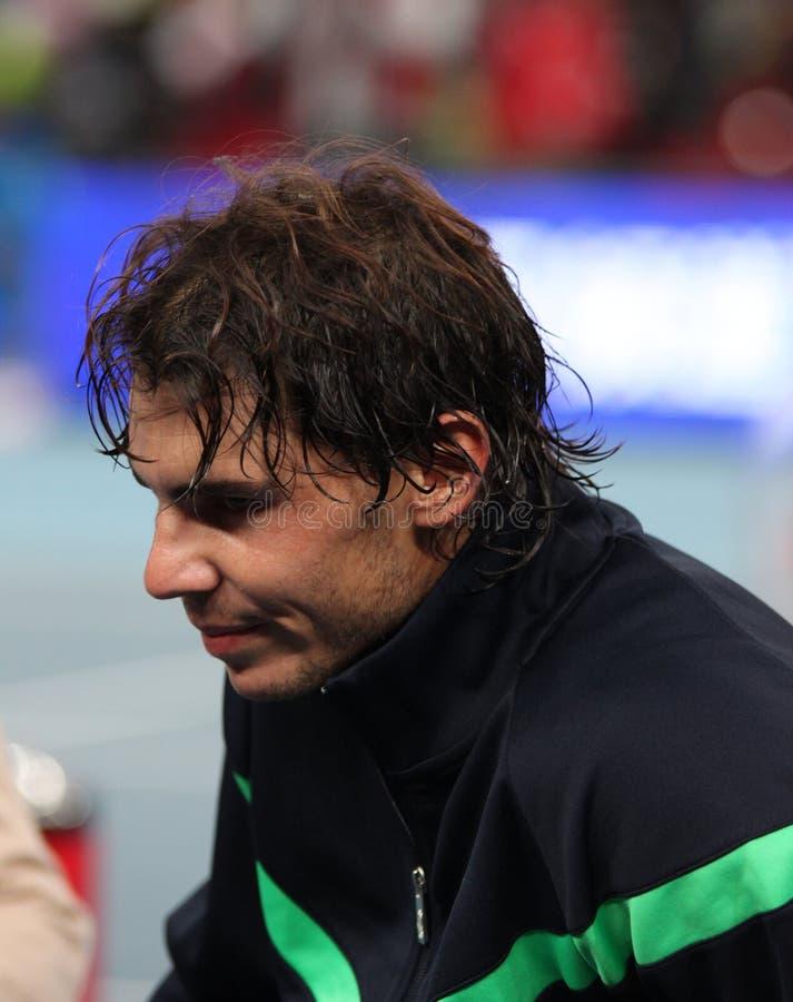 Rafael Nadal (EN PARTICULIER), joueur de tennis professionnel photo stock
