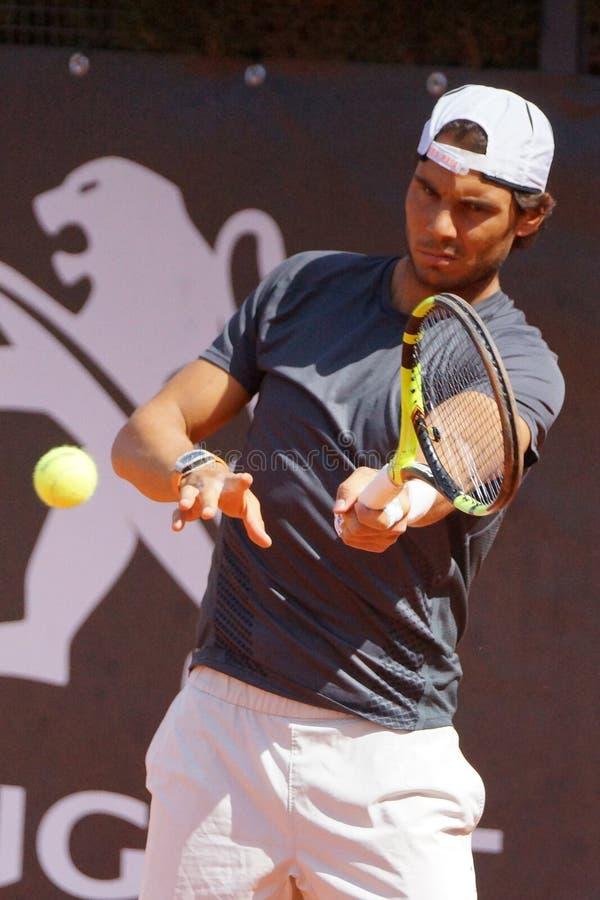 Rafael Nadal (ESPECIALMENTE) foto de archivo