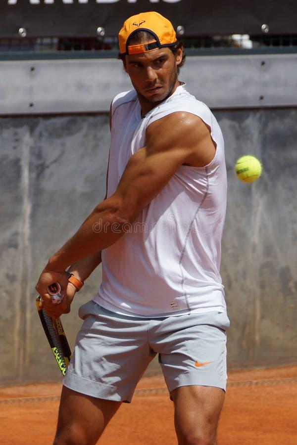 Rafael Nadal (ESPECIALMENTE) fotografía de archivo