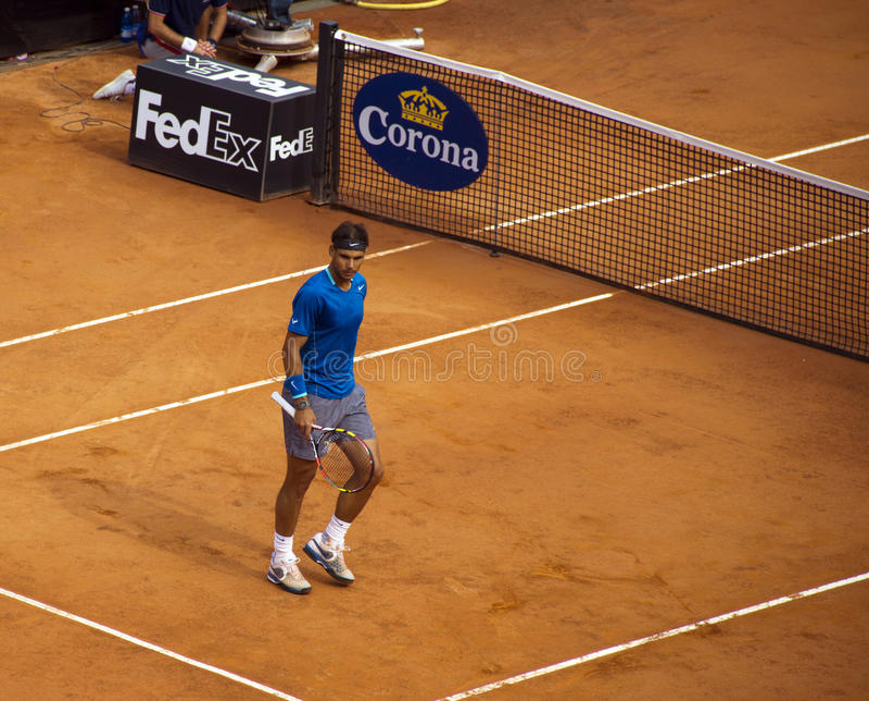 Rafael Nadal royalty free stock photos