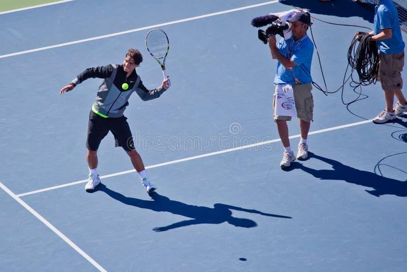Download Rafael Nadal of Spain editorial stock image. Image of outdoors - 16176709