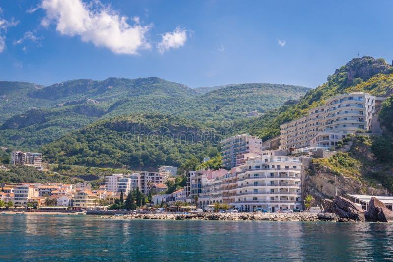 Rafailovici i Montenegro royaltyfria bilder