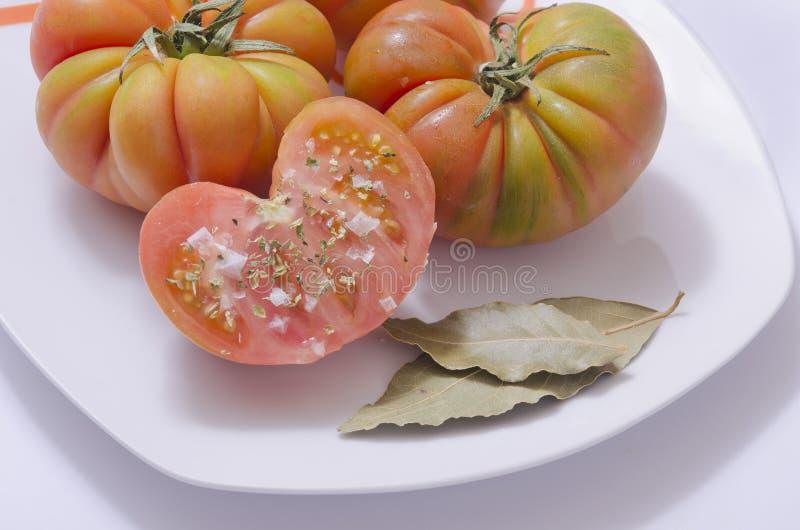 Raff Tomato royalty-vrije stock foto's