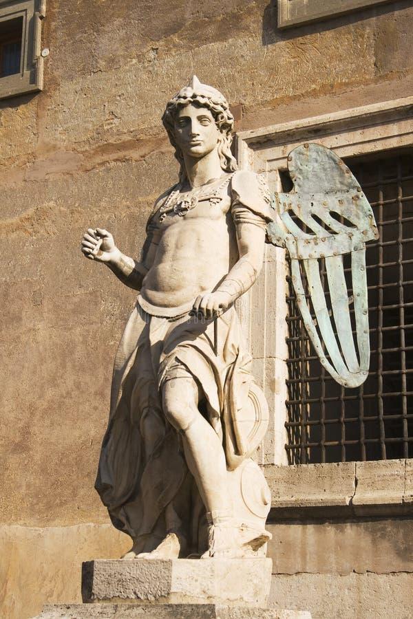 Raffaellos San Miguel imágenes de archivo libres de regalías