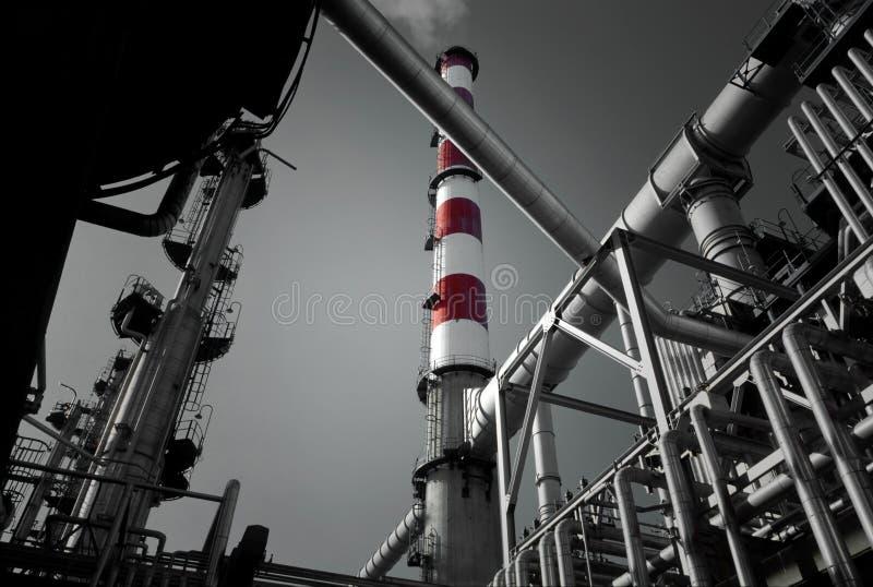 raffinaderi fotografering för bildbyråer