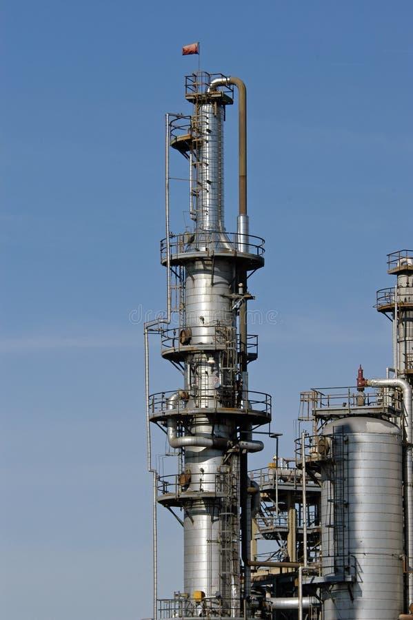 Raffinaderij stock foto's