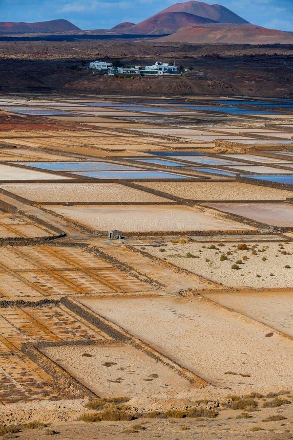 Raffineria del sale. fotografie stock libere da diritti