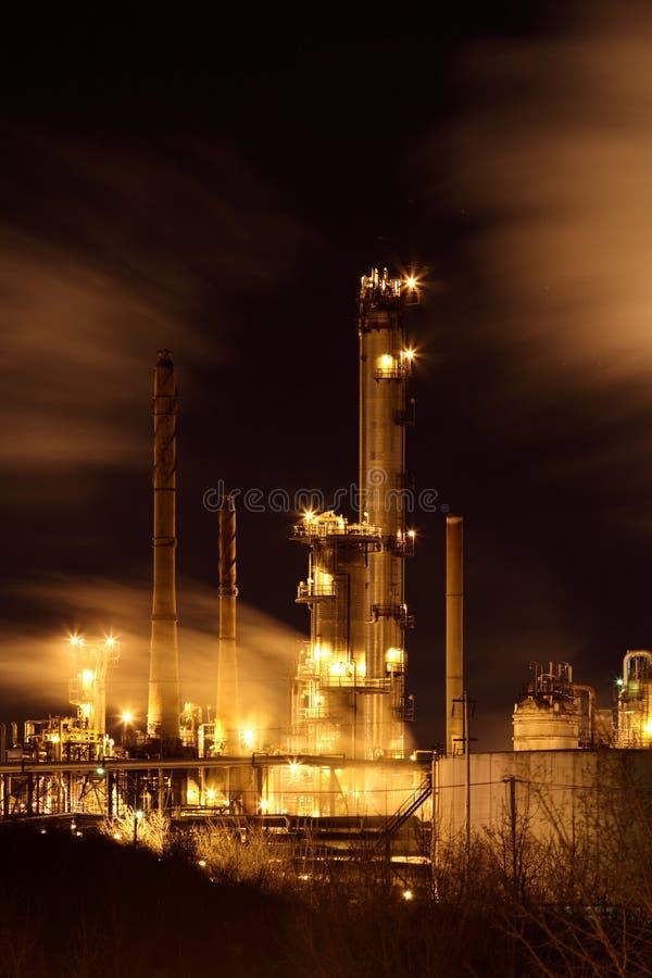 Raffineria di petrolio immagine stock