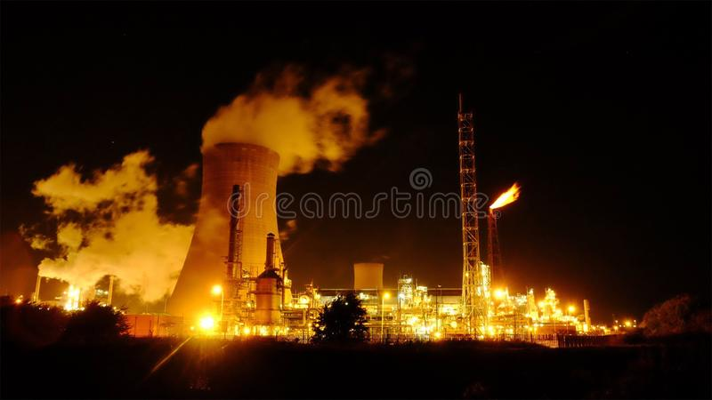 Raffinerie 2 photo stock