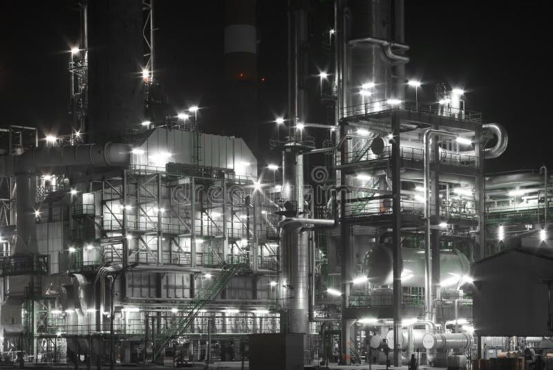 Raffinerie photographie stock