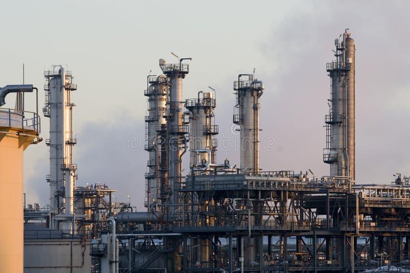 Raffinerie stockbild